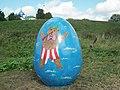 Пасхальное яйцо с новым святым - panoramio.jpg