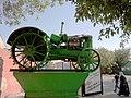 Трактор ХТЗ на постаменте на ул Чапаева.JPG