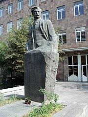 Daniel Varujan's bust