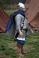 """""""Military Through the Ages,"""" March 19-20, 2016, at Jamestown Settlement, Jamestown, Virginia. Re-enactors explaining history have been meeting each year at Jamestown Settlement since 1984. 2016's (25826818111).jpg"""
