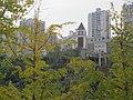 渝北-盘溪河畔一钟楼 - panoramio.jpg