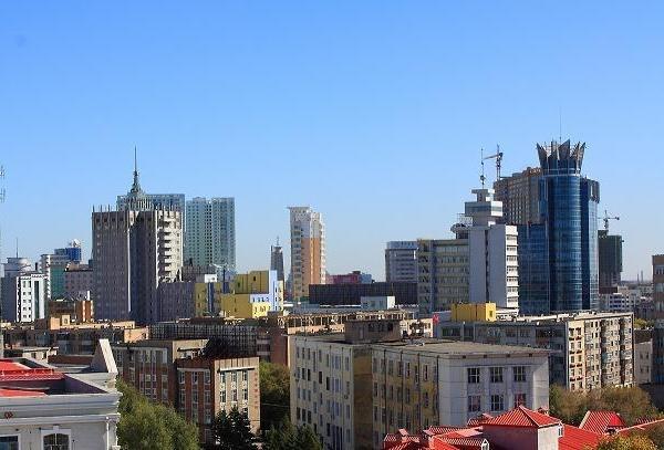 齐齐哈尔城市风光