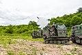 육군 제27보병사단 거점방어전투사격 K532 자주박격포.jpg