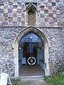 -2019-11-25 South doorway, All Saints parish church, Weybourne.JPG