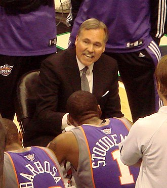 Mike D'Antoni - D'Antoni coaching the Suns.