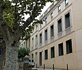 056 Carrer de la Santema, Fundació Palau (Caldes d'Estrac).JPG