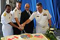 100630-N-GI380-383 U.S. Ambassador to Canada David Jacobson participates in a cake cutting ceremony marking Canada's Navy Centennial.JPG