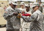 101st STB headquarters cases unit colors in Liberia 150126-A-KO462-138.jpg