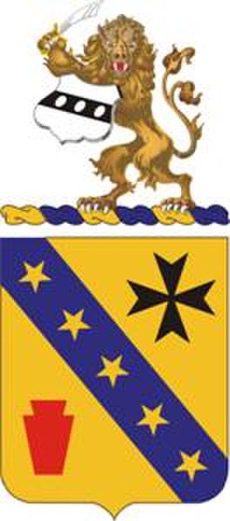 104th Cavalry Regiment - Image: 104Cavalry Regt COA