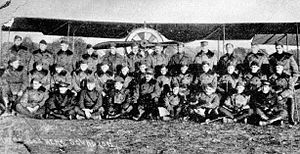 104th Aero Squadron - Image: 104th Aero Squadron November 1918