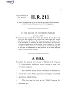 116th United States Congress H. R. 0000211 (1st session) - Hold Congress Accountable Act.pdf