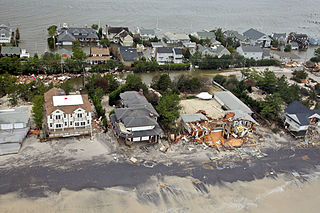 Devastation of Superstorm Sanda