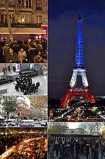 November 2015 Paris attacks series of terrorist attacks in the French capital on 13 November 2015