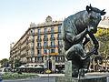 152 Escultura Meditació i casa Rambla de Catalunya 15.jpg