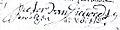 1709 juillet 17, not. VandenEede, signat. Pierre Van Dievoet-Dorothée de Witte.jpg