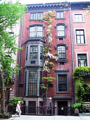 William Zorach - 177 West 9th Street, New York City house