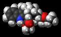 18-Methoxycoronaridine molecule spacefill.png