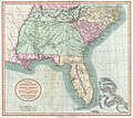 1806 Cary Map of Florida, Georgia, North Carolina, South Carolina and Tennessee - Geographicus - NCSCGAFL-cary-1806.jpg