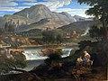 1813 Koch Wasserfall bei Subiaco anagoria.JPG