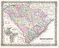 1855 Colton Map of South Carolina - Geographicus - SouthCarolina-colton-1855.jpg