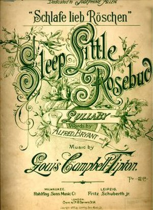 1895 in music - Image: 1895Sleep Little Rosebud