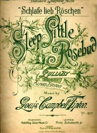 1895 in music - Image: 1895Sleep Little Rosebud