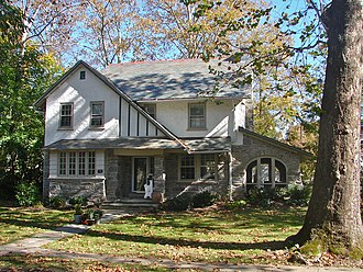 Narberth, Pennsylvania - House in the Narbrook Park Historic District