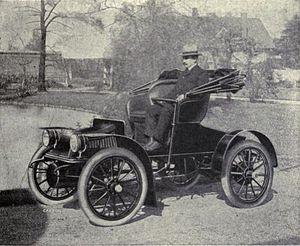 Baker Motor Vehicle - 1909 Baker Suburban Runabout