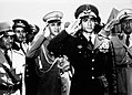 1953 Iranian coup d'état - Mohammad Reza Pahlavi in Tehran Airport.jpg