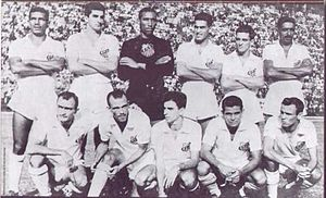 Santos FC - Santos' 1955 State Champion squad established the philosophy of the club's playing style