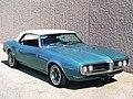 1968 Pontiac Firebird Convertible Turquoise Rt F rt Qtr.jpg