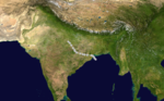 1970 Indian cyclone 5 track.png