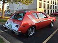 1974 AMC Gremlin X red with white stripes AMO 2015 meet 2of8.jpg