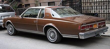 Caprice Classic Emblems 1979 Caprice Classic Landau