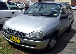 Holden SB Barina City nach dem Facelift (1997–2001)