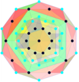 1 22 polytope A4 Coxeter plane.png