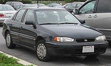 1994 1995 Hyundai Elantra US