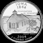 Iowa quarter