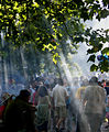 2005-08-28 - London - Notting Hill Carnival - Crowd - Smoke (4888282862).jpg