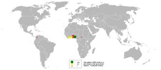 Yam production in Nigeria - World yam production