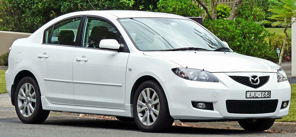 Mazda 3 Sport 2008. 2006–2008 Mazda 3 (BK Series