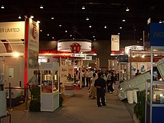 The Show Venue - Bangkok International Trade and Exhibition Centre. (In picture is TIPREX 2006)Image: René Modery.
