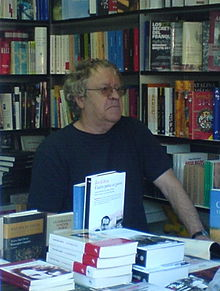 Ian Gibson at the Madrid Book Fair on 10 June 2007