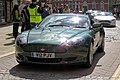 2007 Aston Martin DB9 5935 cc at Horsham English Festival 2018.jpg