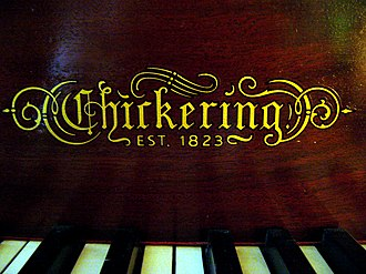 Jonas Chickering - A Chickering piano in 2007