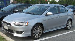 2008 Mitsubishi Lancer (US)