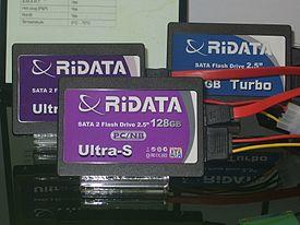 2008 Computex Ritek RiDATA Ultra-S IDE SATA2 SSD.jpg