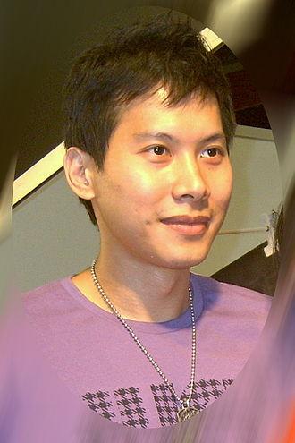 Yen Hsing-su - Yen at the 2008 Leisure Taiwan Day in Taipei