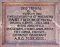 20100417550DR Beerwalde (Erlau) Dorfkirche Supraporteninschrift.jpg