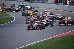 2010 Canadian GP race start.jpg